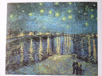 Starry Night (on the Rhone) by Van Gogh
